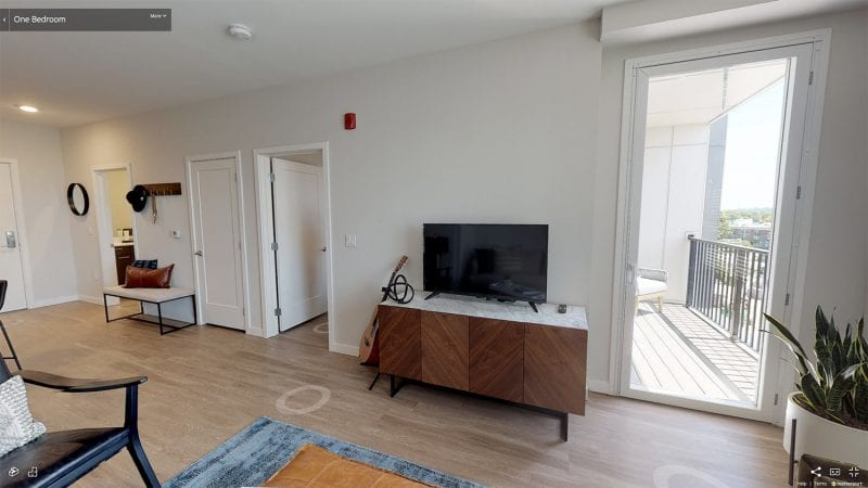 1 Bedroom Apartments at Alta Union House