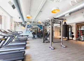 Alta Union House apartments Fitness Center