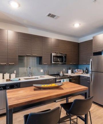 Modern apartment kitchen in Framingham, MA