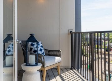Alta Union House apartment with private balcony
