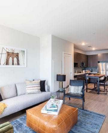One bedroom floor plan at Alta Union House apartments