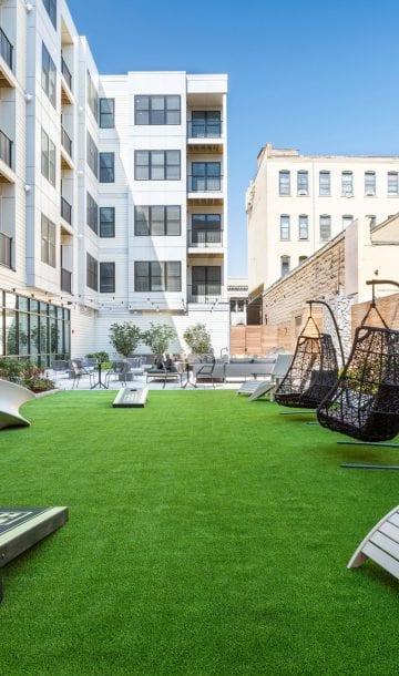 Alta Union House luxury apartments Grass Games