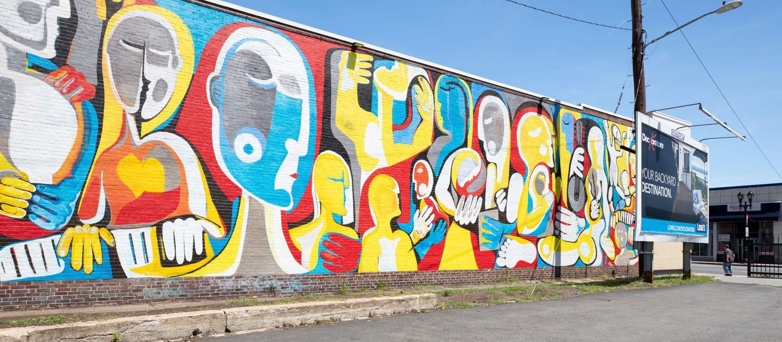 Mural near Alta Union House in Framingham