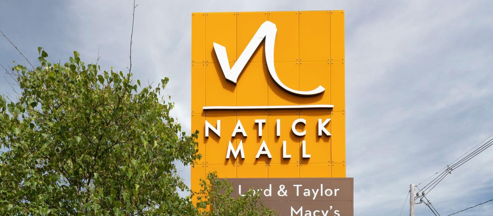 Natick mall near Alta Union House in Framingham, MA
