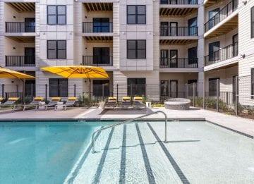 Alta Union House luxury apartments pool